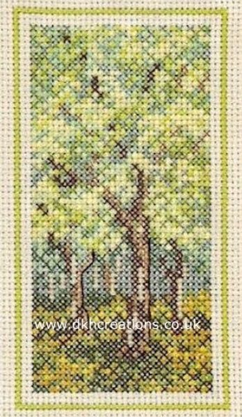 Woodland Spring  Cross Stitch Kit